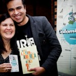 One of the night winners Ms. Szilvia Libor and author Oscar Guardiola-Rivera