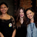 Karina, Ana, Johanna and Landa from Colombiage, with Isa GT