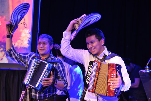 Egidio Cuadrado and Jose Hernando Noguera. Photo courtesy of BBC Radio 3.