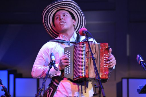 José Hernando performing at the World Routes Academy in London, January 2012